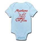 Marlene On Fire Infant Bodysuit