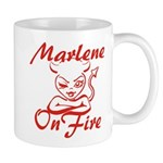 Marlene On Fire Mug