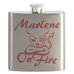 Marlene On Fire Flask