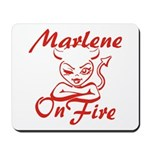 Marlene On Fire Mousepad