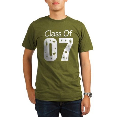 Class of 2007 Organic Men's T-Shirt (dark)