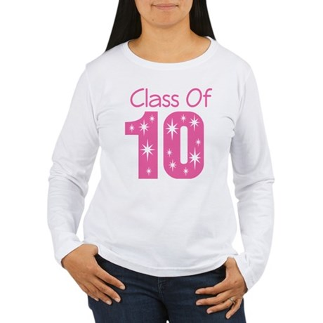 Class of 2010 Women's Long Sleeve T-Shirt