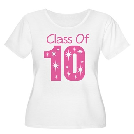 Class of 2010 Women's Plus Size Scoop Neck T-Shirt