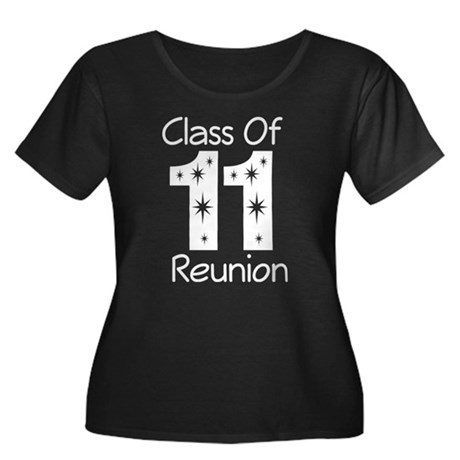 Class of 2011 Reunion Women's Plus Size Scoop Neck