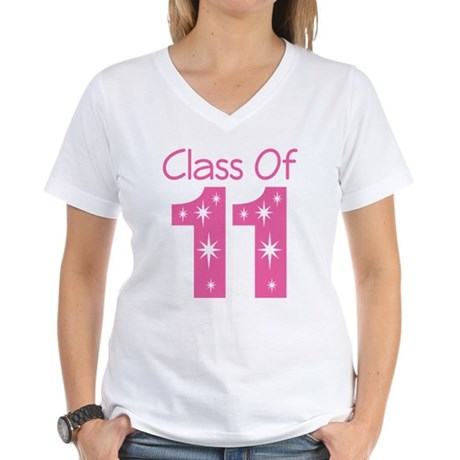 Class of 2011 Women's V-Neck T-Shirt