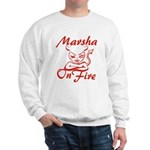 Marsha On Fire Sweatshirt