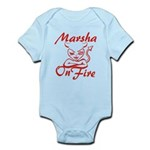 Marsha On Fire Infant Bodysuit
