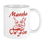 Marsha On Fire Mug