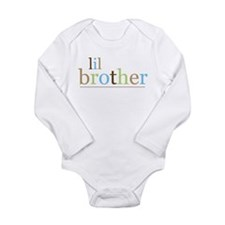 Unique Lil bro Long Sleeve Infant Bodysuit