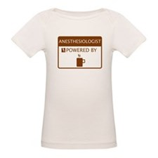 Anesthesiologist Powered by Coffee Tee