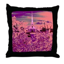 Church On Sunday Throw Pillow