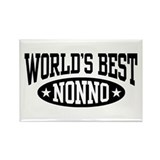 World's Best Nonno Rectangle Magnet
