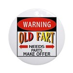 Old Fart Ornament (Round)