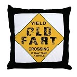 Old Fart Throw Pillow