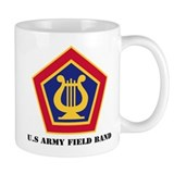 U.S Army Field Band with Text Coffee Mug