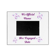 Its Official We are Engaged. Picture Frame