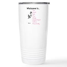 Phil. 4:8 Travel Mug
