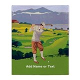 Personalized Golf Highlands Golfing Scene Stadium