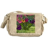 Flower Power Messenger Bag