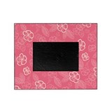 Flower Tropical Simple Pink Picture Frame