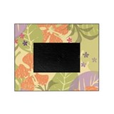Flower Tropical Yellow Picture Frame