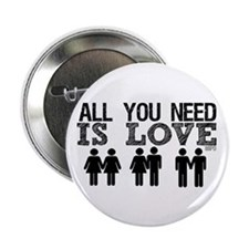 "All You Need Is Love 2.25"" Button"