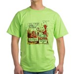 Stand Your Ground Law Enters Hell Green T-Shirt