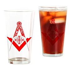 Christian Mason Drinking Glass