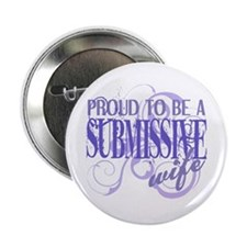 "Submissive Wife (Purple) 2.25"" Button (10 pac"