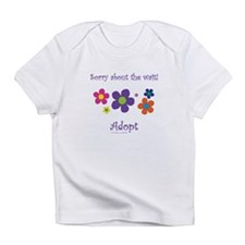 Sorry about the wait (girl) Infant T-Shirt