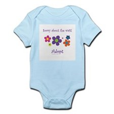Sorry about the wait (girl) Infant Bodysuit
