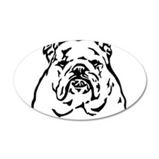 Bulldog Support Rescue Wall Decal