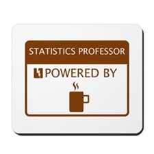 Statistics Professor Powered by Coffee Mousepad