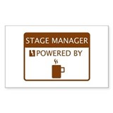 Stage Manager Powered by Coffee Decal
