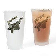 Air Force F22 Raptor Drinking Glass