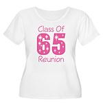Class of 1965 Reunion Women's Plus Size Scoop Neck