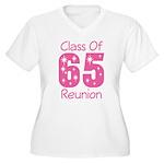 Class of 1965 Reunion Women's Plus Size V-Neck T-S