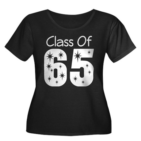 Class of 1965 Women's Plus Size Scoop Neck Dark T-