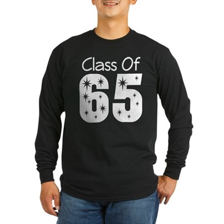Class of 1965 Long Sleeve Dark T-Shirt