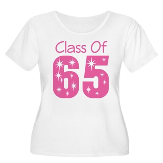Class of 1965 Women's Plus Size Scoop Neck T-Shirt