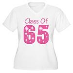 Class of 1965 Women's Plus Size V-Neck T-Shirt