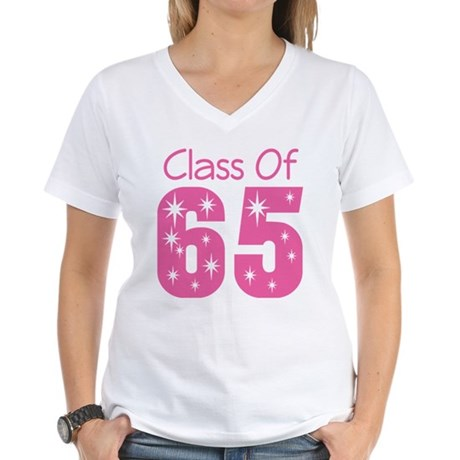 Class of 1965 Women's V-Neck T-Shirt