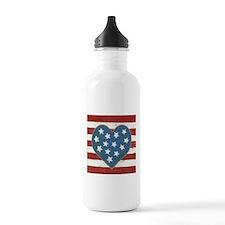 American Love Water Bottle