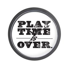 Play Time Wall Clock