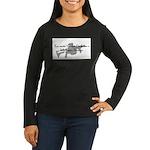 Dream Bigger Women's Long Sleeve Dark T-Shirt
