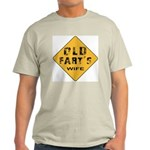 Old Fart's Wife Ash Grey T-Shirt