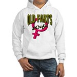 Old Fart's Wife Hooded Sweatshirt