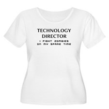 technology director zombie fighter T-Shirt