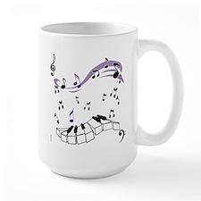 OYOOS Piano notes design Mug