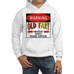 Old Fart Hooded Sweatshirt